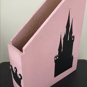 Other - Princess castle book magazine storage